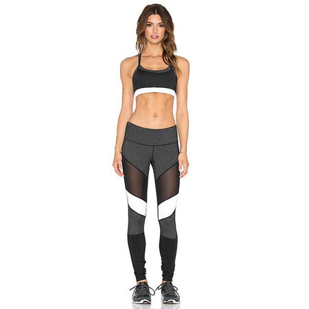 Ensemble Legging et Top - White Shark - Viva Healthy