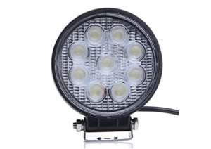 "LED Work Lamp - 4"" Round, 2160 Lumens"