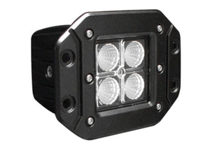 "LED Work Lamp - 3"" Square Flood, Flush Mount, 1080 Lumens"