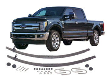 Ford - F Super Duty; Front Tapered Extra Leaf Kit