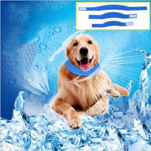 Wholesale Dog Cooling Collars Safe Gel leash Pet Summer Sunstroke Prevention Cooling Neck Collar For Small Medium Large Dogs greniermonde