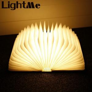 Three USB Rechargeable LED Foldable Wooden Book Shape Desk Lamp Book Night Light For Home Decor Warm White Light Drop Shipping greniermonde Three USB Rechargeable LED Foldable Wooden Book Shape Desk Lamp Book Night Light For Home Decor Warm White Light Drop Shipping greniermonde