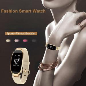 Bluetooth Waterproof S3 Smart Watch Fashion Women Ladies Heart Rate Monitor Fitness Tracker Smartwatch 2018 For Android IOS greniermonde Bluetooth Waterproof S3 Smart Watch Fashion Women Ladies Heart Rate Monitor Fitness Tracker Smartwatch 2018 For Android IOS greniermonde