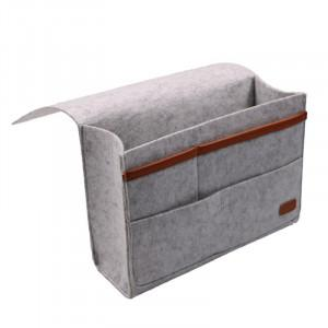 Felt Bedside Caddy Storage Bag- Bed Skirt Storage Pocket Organizer for Bedroom, College Dorm Room,Under Mattress Holder Bag greniermonde Felt Bedside Caddy Storage Bag- Bed Skirt Storage Pocket Organizer for Bedroom, College Dorm Room,Under Mattress Holder Bag greniermonde