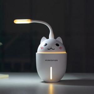 Lovely Cat 320ml Electric Aroma Essential Oil Diffuser USB Mini Ultrasonic Air Humidifier Aromatherapy Mist Maker Home Office greniermonde Lovely Cat 320ml Electric Aroma Essential Oil Diffuser USB Mini Ultrasonic Air Humidifier Aromatherapy Mist Maker Home Office greniermonde
