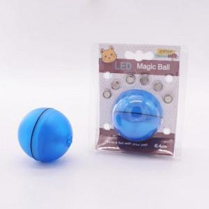 Pet Electric Smart Rolling Cat Toy Ball LED Light Cat Supplies Funny Cat Toy Ball Pet Teasing Training Education Interactive Toy greniermonde Pet Electric Smart Rolling Cat Toy Ball LED Light Cat Supplies Funny Cat Toy Ball Pet Teasing Training Education Interactive Toy greniermonde