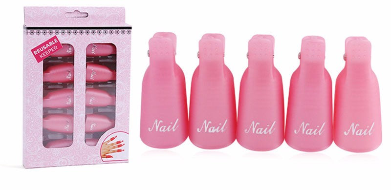Lot 10 PCS pinces pour ongles