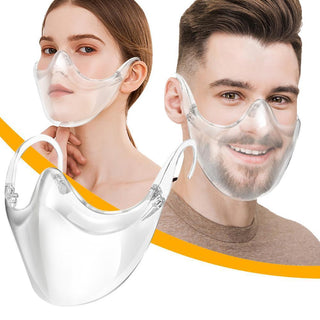 Masque De Protection Transparent - KdoStore