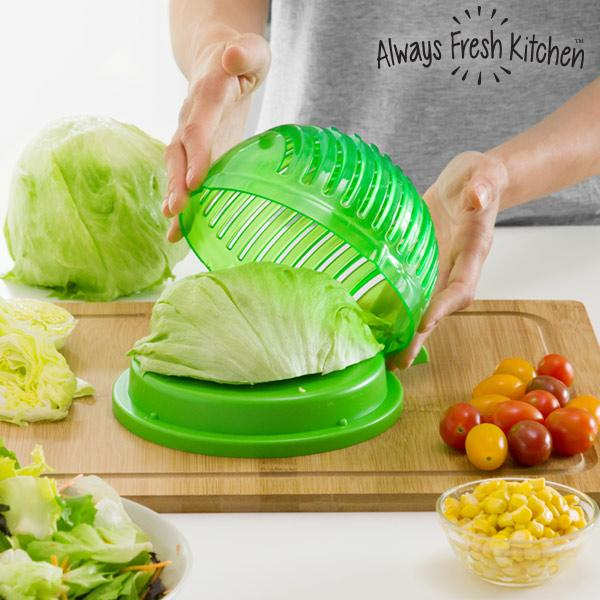 Quick Salad Maker - Le coupe salade multi-fonction - KDOSTORE