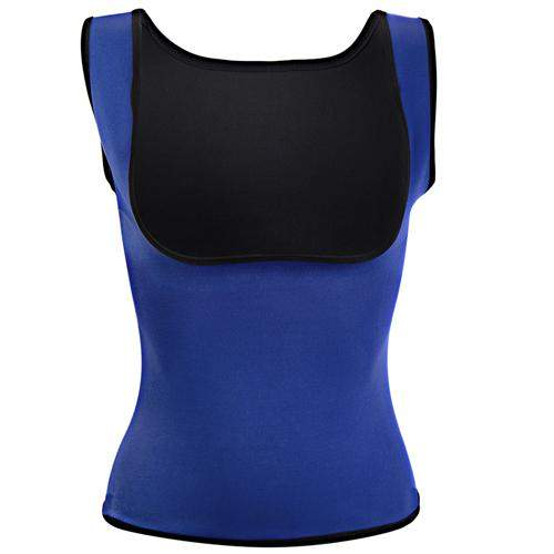 body taille fine, camisole minceur, camisole bleue