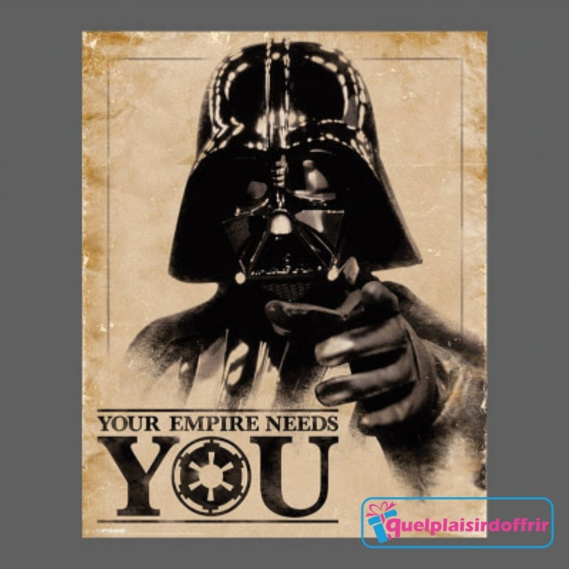 superbe poster Star Wars Dark Vador