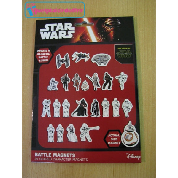 24 magnets Star Wars Episode 7