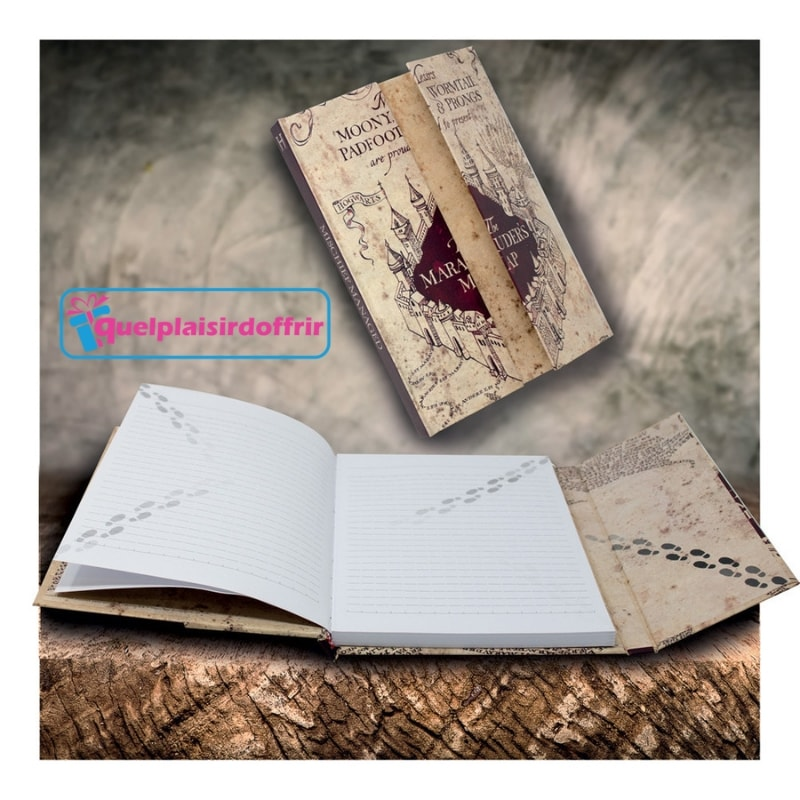 "Carnet de notes HARRY POTTER ""The marauder's map"""