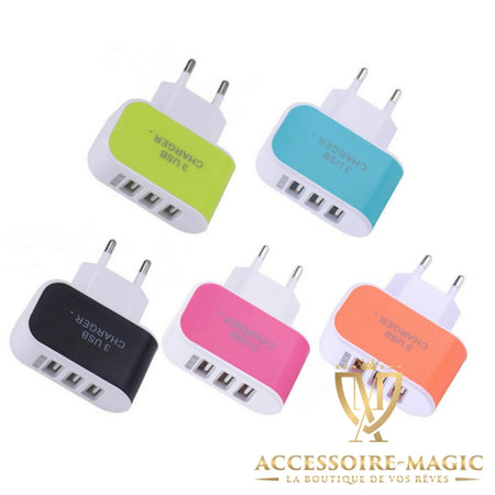 Chargeur multi-USB magic