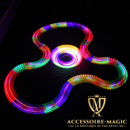 Circuit lumineux flexible magic