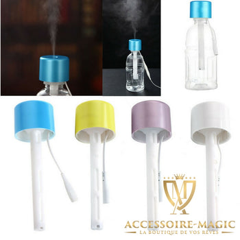 HUMIDIFICATEUR/DIFFUSEUR D'AIR NOMADE MAGIC est la solution efficace pour se rafraichir naturellement et diffuser des senteurs avec des bouteilles d'eau ! C'est l'accessoire magic !!!