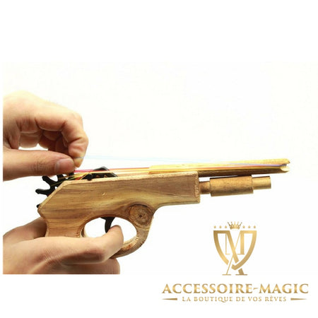 Revolver en bois magic