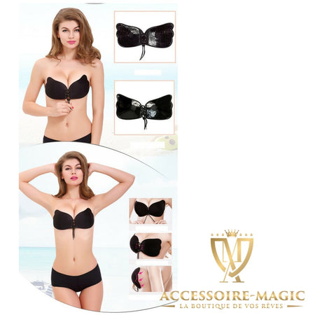 Soutien-gorge push-up sans bretelle magic