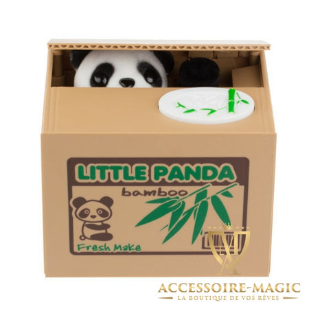Tirelire panda/chaton magic