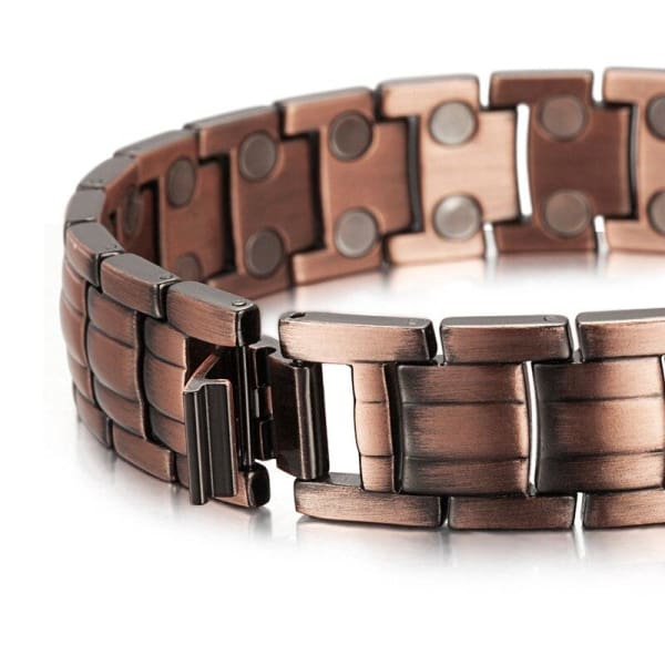 Bio Full Magnetic Copper Bracelet - Men - EDD