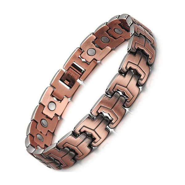 Bio Full Magnetic Copper Bracelet - Men - EROD