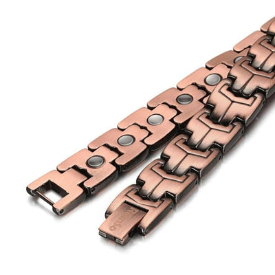 Bio Full Magnetic Copper Bracelet - Men - EROD Magnetic Bracelet
