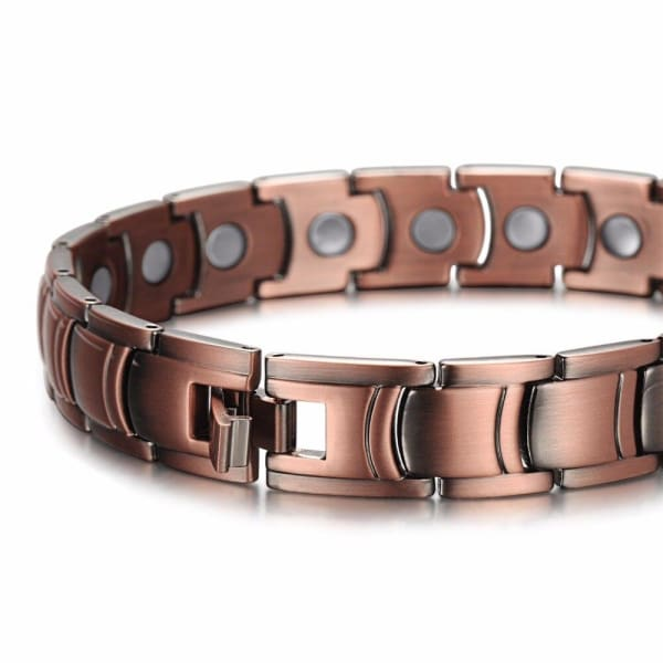 Bio Full Magnetic Copper Bracelet - Men - JOE