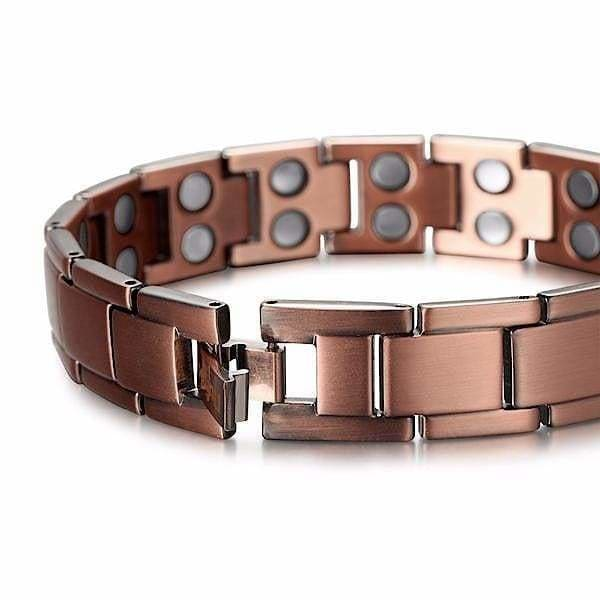 Bio Full Magnetic Copper Bracelet - Men - MAX