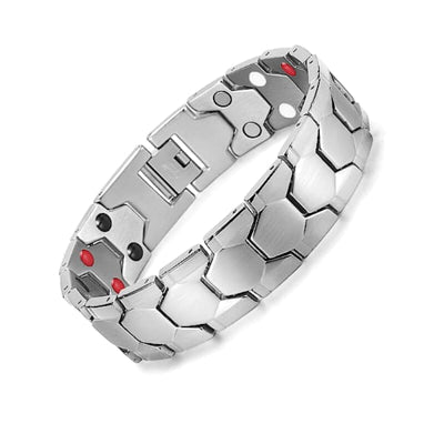 Bracelet 11500 Silver - Men / Bio Magnetic Balance 4® magnetic jewerly