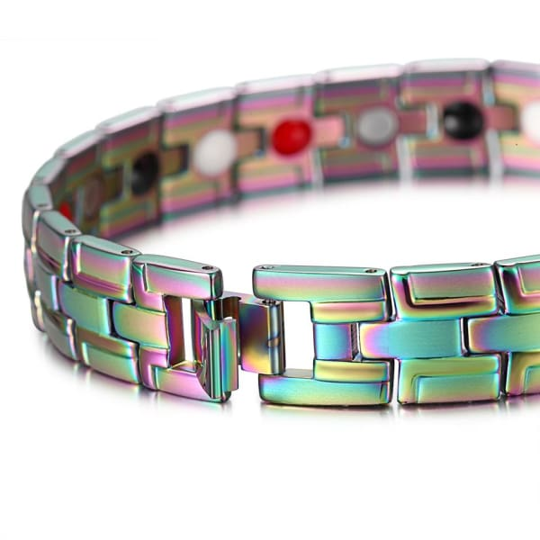 Bracelet 2050 multicolored - Men / Bio Magnetic Balance 4® magnetic jewerly