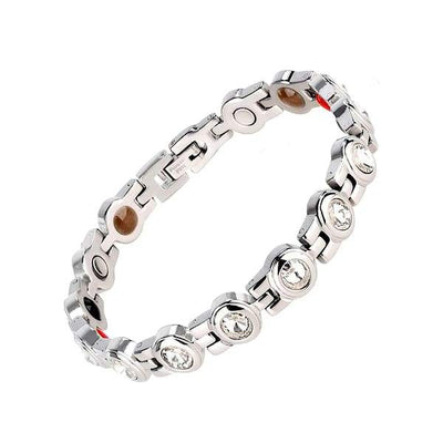 Auryaspower 210 Crystal / 4 In 1 Magnetic Bracelet / Women Magnetic Bracelet