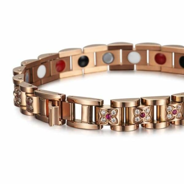 Bracelet 220 Gold Rose - Women / Bio Magnetic Balance 4®-Limited Edition