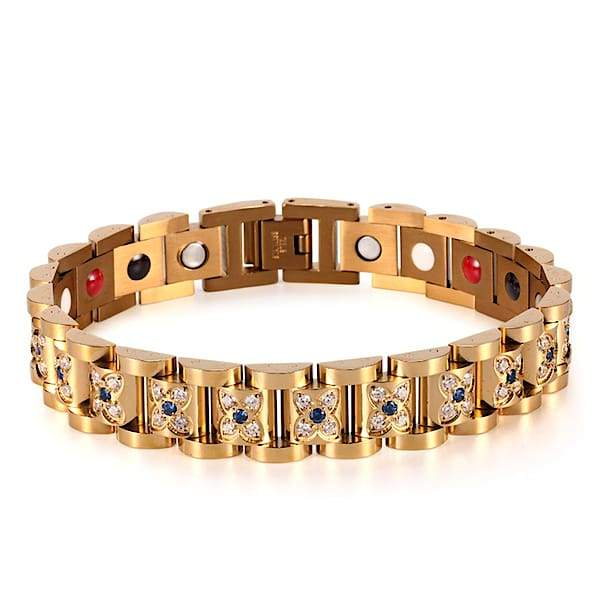 Auryaspower 220 Gold / 4 In 1 Magnetic Bracelet / Women Magnetic Bracelet