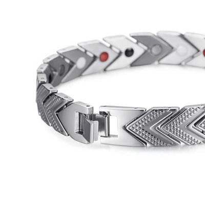 Bracelet 270 Silver - Women / Bio Magnetic Balance 4® magnetic jewerly