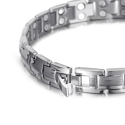 Bracelet 3010 Silver - Men / Bio Full Magnetic Balance