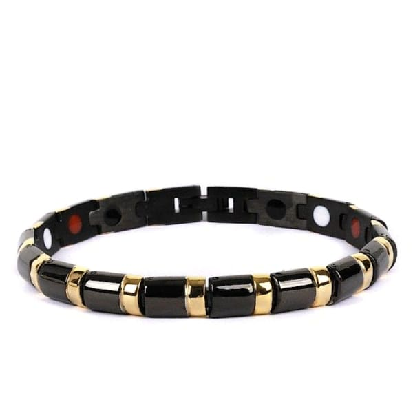 Bracelet 3200 Black Gold - Women / Bio Magnetic Balance 4®