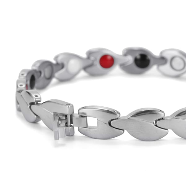 Bracelet 360 Silver - Women / Bio Magnetic Balance 4® magnetic jewerly
