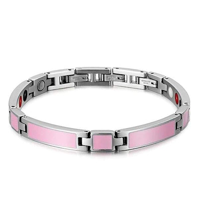 Auryaspower 404 Pink / 4 In 1 Magnetic Bracelet / Women Magnetic Bracelet
