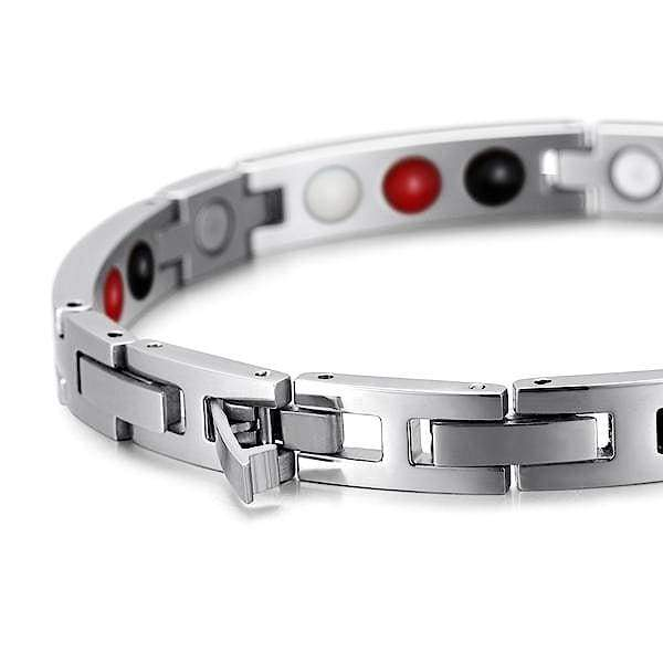 Bracelet 404 Red - Women / Bio Magnetic Balance 4®