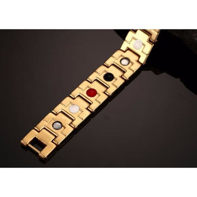 Bracelet 4300 Gold - Men / Bio Magnetic Balance 4® magnetic jewerly