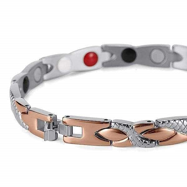 Bracelet 501 Rose Gold - Women / Bio Magnets Balance® Magnetic Bracelet