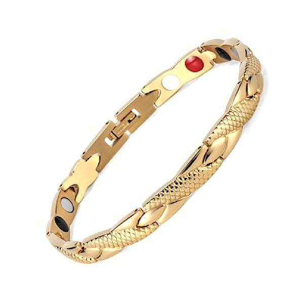 Auryaspower 501 Gold / 4 In 1 Magnetic Bracelet / Women Magnetic Bracelet