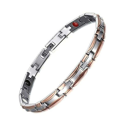 Auryaspower 510 Silver Gold Rose / 4 In 1 Magnetic Bracelet / Women Magnetic Bracelet