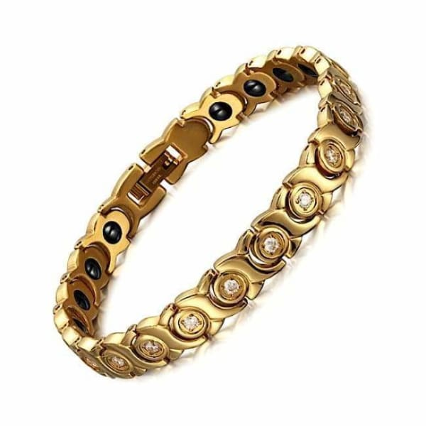 Bracelet 711 Gold - Women / Bio Full Magnetic Balance