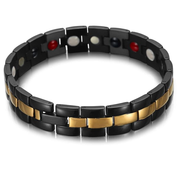 Bracelet 7700 Black Gold - Men / Bio Magnetic Balance 4®