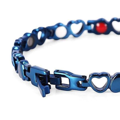 Auryaspower 810 Blue / 4 In 1 Magnetic Bracelet / Women Magnetic Bracelet