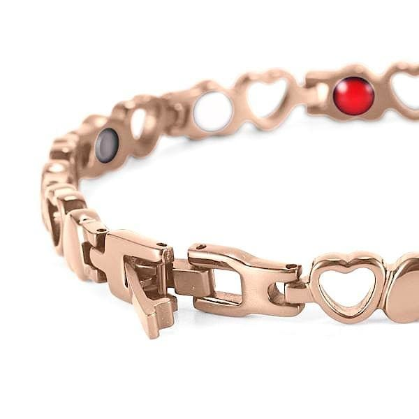 Bracelet 810 Gold Rose - Women / Bio Magnetic Balance 4®