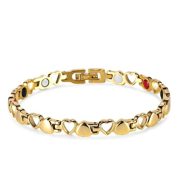Auryaspower 810 Gold / 4 In 1 Magnetic Bracelet / Women Magnetic Bracelet