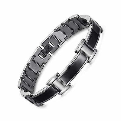 Auryaspower 9001 Black / 4 In 1 Magnetic Bracelet / Men Magnetic Bracelet