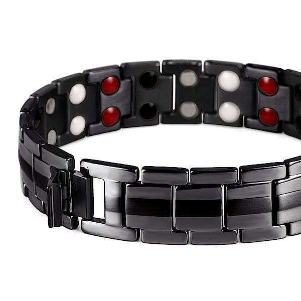 Bracelet 9009 Black - Men / Bio Magnetic Balance 4®